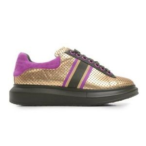 ca7d37b62e8aa Shoes - Hollie Watman Spots and Stripes Sneakers